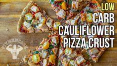 How to Make Low-Carb Cauliflower Pizza Crust / Corteza de Pizza Hecha de...