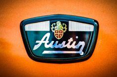 1961 Austin Mini Emblem -0953c Photograph