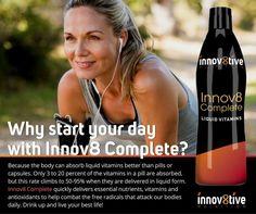 Innov8 Complete liquid vitamins amandar.innov8tivenutrition.com #ketogenic #lifestyle #hflc #innov8yourhealth #liveyourbestlife