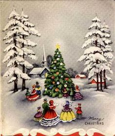 Ramblings of a Redhead: A Vintage Christmas