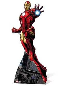 Iron Man Life-Sized Cutout.