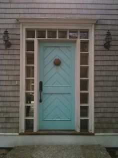 Chester, Nova Scotia If you've ever visited the seaside village of Chester, Nova Scotia, chances are this charming turquoise coloure. Doors And Floors, Doors, Exterior Doors, House Exterior, Beach House Decor, Front Door, Doors Galore, Painted Front Doors, Exterior House Colors