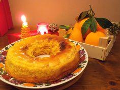 Ecco a voi la ricetta di un profumatissimo budino che sprigiona la quint' essenza delle arance. Ideale per i pranzi e le cene del periodo natalizio.