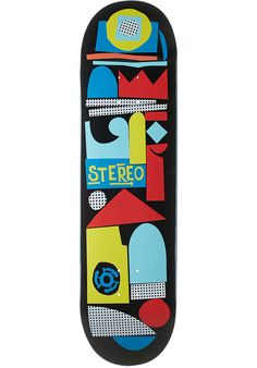 Stereo Collage - titus-shop.com  #Deck #Skateboard #titus #titusskateshop
