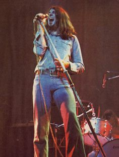 Ian Gillan with Deep Purple Mark 2 in Rock N Roll, Emerson Lake & Palmer, Purple Band, Best Rock, Black Sabbath, Fleetwood Mac, Led Zeppelin, Rock Bands, Metal Bands