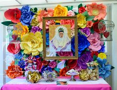 Frida Kahlo Party- I love Frida Kahlo.  I might want to have a party for her!