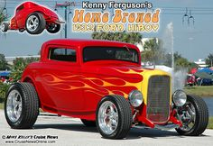 Street Rod Flames | Kenny Ferguson's 1932 Ford Hiboy (from Volume 12, Issue 135)