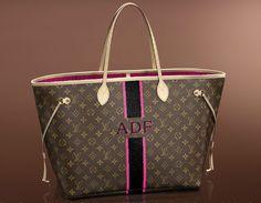 Mon-Monogram Louis Vuitton Neverfull GM with my initials. I wish!