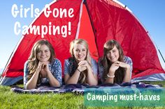 Must Haves for Girls Gone Camping