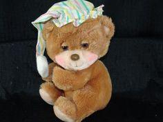 eBlueJay: 1985 Fisher Price 1401 Sleepy Time Teddy Bear Plush
