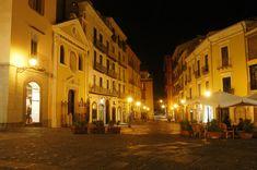 Salerno - Piazza Portanova by Night