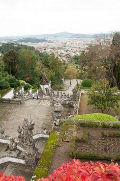 Braga, Portugal Travel Around The World, Around The Worlds, Braga Portugal, Gothic Cathedral, Douro, Most Beautiful Cities, Wanderlust Travel, Pilgrimage, Natural Wonders
