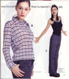 Mailman pants. (WHY?) | 16 Things Teen Girls Wore In The Winter Of 1996
