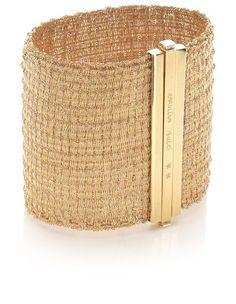 Carolina Bucci: Gold Woven Bracelet