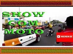 MOTOCICLISTA DA SHOW COM MOTO