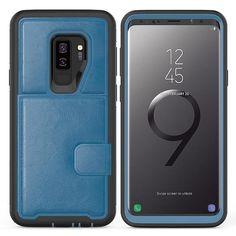 Caler Cover Compatible avec Samsung Galaxy S10+//S10 Plus Miroir Coque Intelligente Portefeuille Flip Silicone Transparent Case en Cuir Bumper Folio Protecteur Couverture Mirror Support Shell