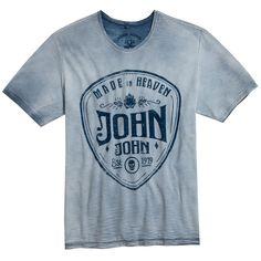 T-SHIRT BIG PICK BLUE JOHN JOHN DENIM | SHOP ONLINE | Compre a nova coleção pelo site oficial.
