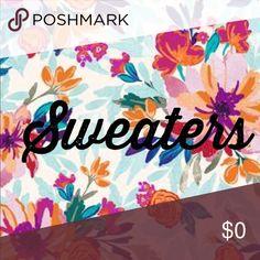 Sweaters 🌨 Sweaters Sweaters