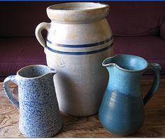 Stewart Pottery Churn-4 gallon, Louisville, Mississippi