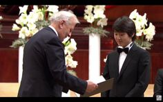 Seong-Jin Cho, the winner of 17th Chopin piano competition 2015년 쇼팽 콩쿨 시상식