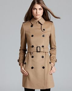Burberry London Coat - Buckingham | Bloomingdale's
