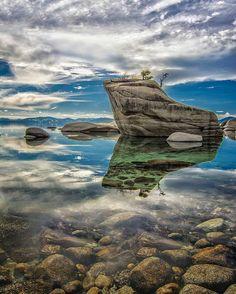 Bonsai Rock. Lake Tahoe