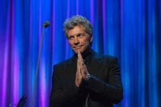 Jon Bon Jovi Photos Photos - Jon Bon Jovi, Chairman of the JBJ Foundation speaks…