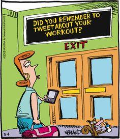 Today on Reality Check - Comics by Dave Whamond Cartoon Jokes, Funny Cartoons, Funny Comics, Social Media Humor, Technology Humor, Todays Comics, Non Sequitur, Reality Check, Calvin And Hobbes