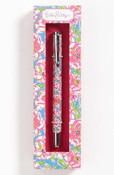 For the stylish mom who loves to hand-write cards: Lilly Pulitzer pen. $19