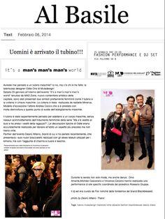 """Desirù on """"Al Basile"""" http://albasile.tumblr.com/post/75792601978/uomini-e-arrivato-il-tubino"""