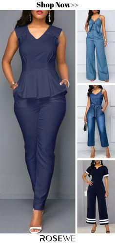 jumpsuits For Women African Fashion Dresses, African Dress, Fashion Outfits, Fashion Books, Summer Outfits, Cute Outfits, Latest Fashion For Women, Womens Fashion, Vetement Fashion