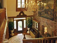 traditional foyer