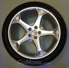 OZ Antaris 18 inch 5x100 + Kumho 225/40R18 Passend op VW, Audi, Seat en Chevrolet Beretta !