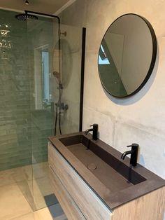 Industrial bathroom bathroom inspiration The new bathroom To add some color we h. Bathroom Toilets, Bathroom Renos, Bad Inspiration, Bathroom Inspiration, Bathroom Design Small, Bathroom Interior Design, New Toilet, Industrial Bathroom, Shower Remodel