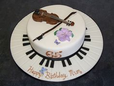 Violin cake by Alix s Cakes