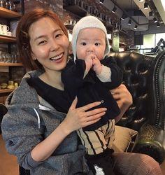 김나영, 아들과 행복한 한때