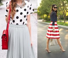 como combinar estampas coloridas roupas