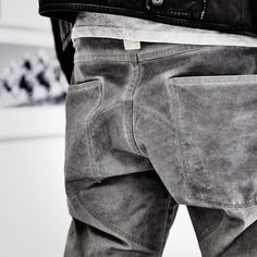 Get up close with the limited-edition G-Star Elwood 5620 Moto jeans, available now in two custom colorways