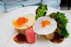 Dix-Huit et l'originale cuisine métissée du Chef Aaron Isip Paris Restaurants, Breakfast, Food, Kitchens, Morning Coffee, Meals, Yemek, Eten