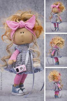Tilda Rag Doll Russian Art Doll Summer Baby Doll Special | Etsy