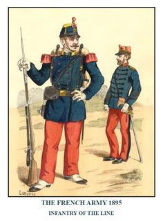 French Line Infantry 1895