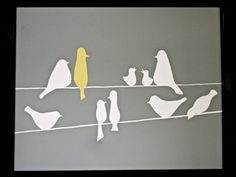 birds - I have some silhouette files for this!