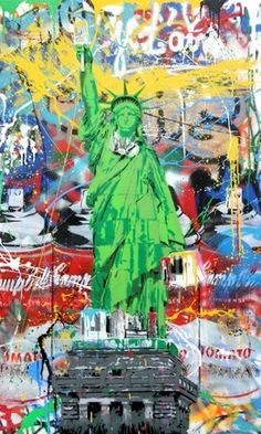 Mr. Brainwash, 'Liberty,' 2015, Contessa Gallery