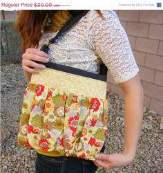 HUGE LOVE SALE Denim yellow and floral by sierranicoledesigns, $15.00