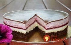 Dokonalá jogurtovo-malinová torta s čokoládou: Neskutočne chutný dezert, ktorý nedostanete ani v cukrárni!