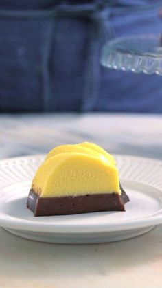 Flan duo, uma sobremesa incrível com duas cores, duas texturas e dois sabores!