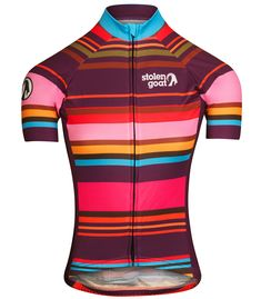 stolen goat hypervelocity womens short sleeve cycling jersey front