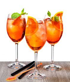 aperol spritz on Behance Alcoholic Drinks, Cocktails, Tea Cups, Food, Behance, Craft Cocktails, Essen, Liquor Drinks, Cocktail