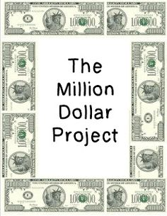 Would you like to spend 1 million dollars? Here's a project to get students spending and computing.