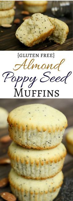 Soft, buttery, gluten free muffins bursting with almond flavor and crunchy poppy seeds are reminiscent of those bakery muffins we all love! They are the star of any breakfast spread and also make a great grab-and-go snack.